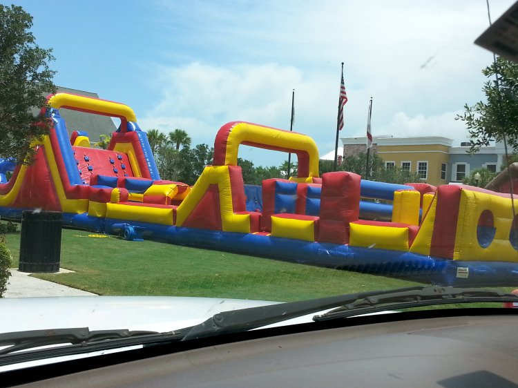 75 Ft Race N Slide