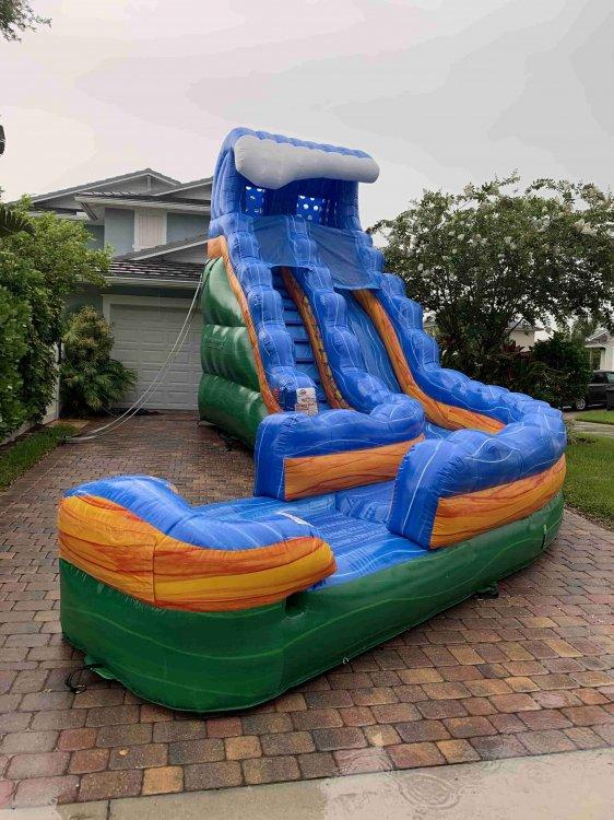19 Foot Storm Surge Slide